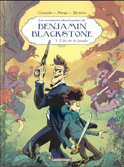 Couverture Benjamin Blackstone tome 1