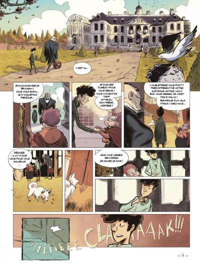 Page 1 Benjamin Blackstone tome 1
