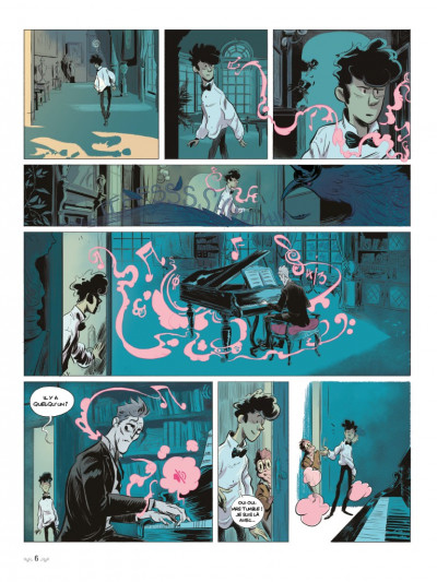 Page 4 Benjamin Blackstone tome 1