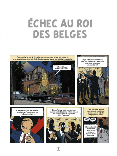 Page 1 Les aventures de Scott Leblanc tome 4