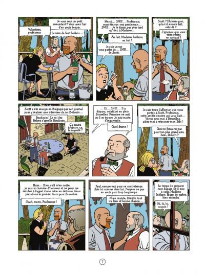 Page 5 Les aventures de Scott Leblanc tome 4