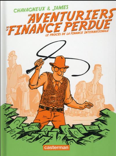 Couverture Les aventuriers de la finance perdue