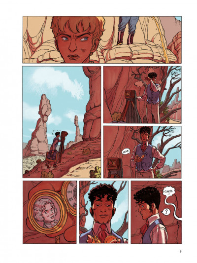 Page 5 L'odeur des garçons affamés