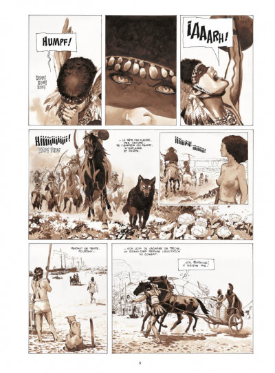 Page 3 Le coeur des amazones - édition deluxe