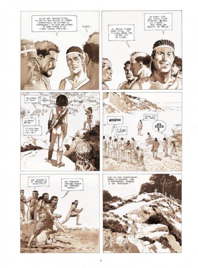 Page 5 Le coeur des amazones - édition deluxe