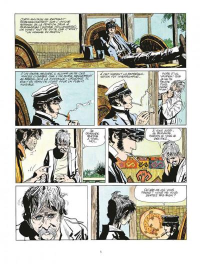 Page 1 Corto Maltese tome 2 - Sous le signe du Capricorne (édition 2015)