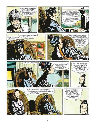 Page 2 Corto Maltese tome 2 - Sous le signe du Capricorne (édition 2015)