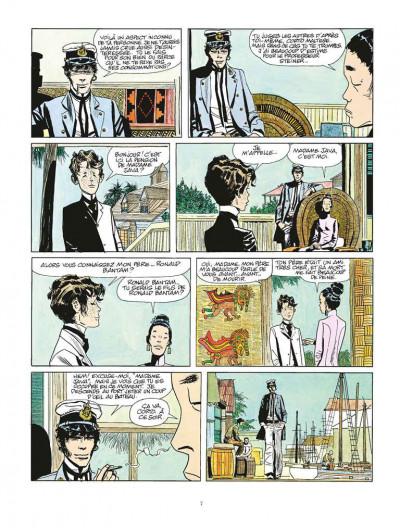 Page 3 Corto Maltese tome 2 - Sous le signe du Capricorne (édition 2015)