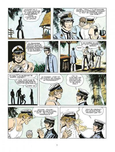 Page 4 Corto Maltese tome 2 - Sous le signe du Capricorne (édition 2015)