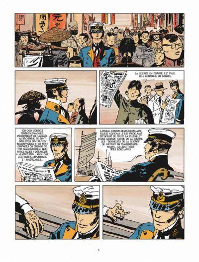 Page 4 Corto Maltese - édition 2015 tome 6