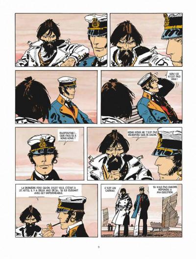 Page 5 Corto Maltese - édition 2015 tome 6