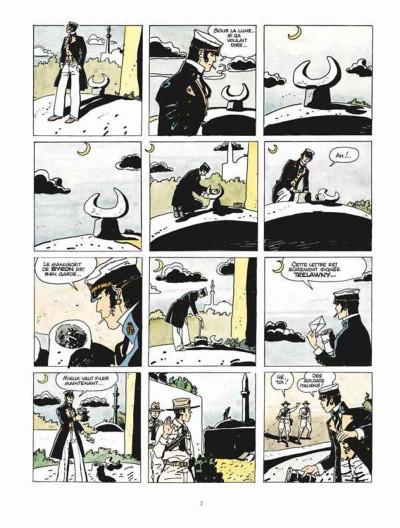 Page 3 Corto Maltese - édition 2015 tome 8