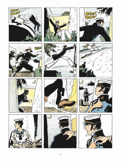 Page 4 Corto Maltese - édition 2015 tome 8