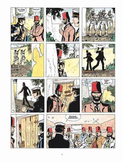 Page 5 Corto Maltese - édition 2015 tome 8
