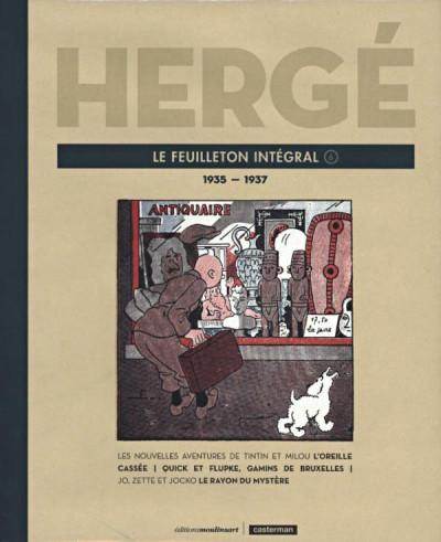 image de Hergé - Le feuilleton intégral - 1935-1937