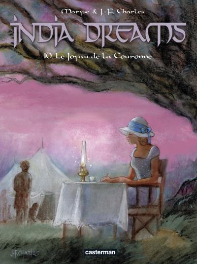 Couverture India dreams tome 10 - Artbook