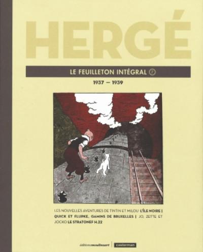 Couverture Hergé - Le feuilleton intégral - 1937-1939