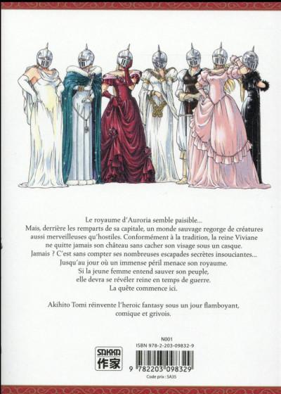 Dos Stravaganza - la reine au casque de fer tome 1