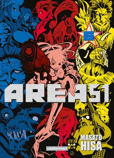 Couverture Area 51 tome 6