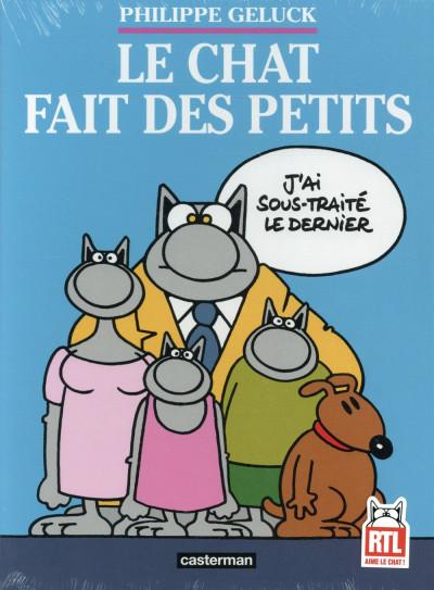 Couverture Le Chat tome 20 - coffret 3 volumes
