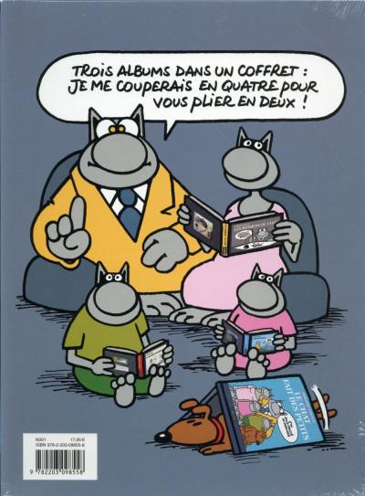 Dos Le Chat tome 20 - coffret 3 volumes