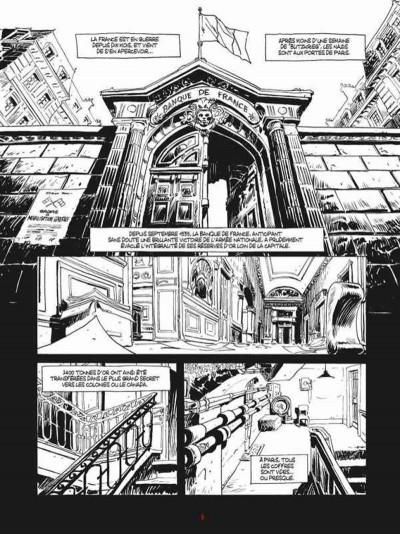 Page 1 Comment faire fortune en Juin 1940 - édition noir et blanc