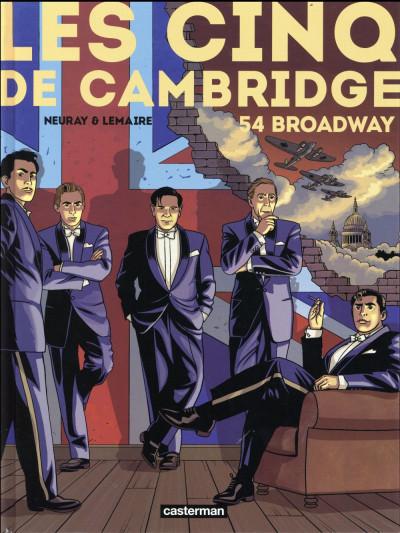 Couverture Les cinq de Cambridge tome 2