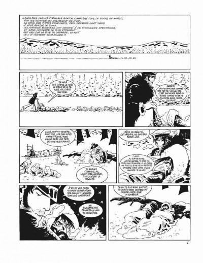 Page 1 Corto Maltese - tirage de tête tome 13 - sous le soleil de minuit