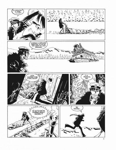 Page 2 Corto Maltese - tirage de tête tome 13 - sous le soleil de minuit