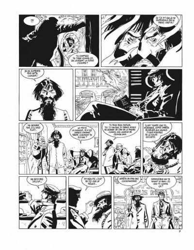 Page 3 Corto Maltese - tirage de tête tome 13 - sous le soleil de minuit