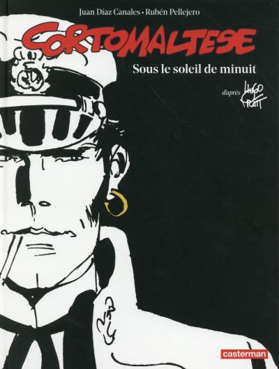 Couverture Corto Maltese tome 13 - édition noir et blanc