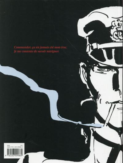 Dos Corto Maltese tome 13 - édition noir et blanc