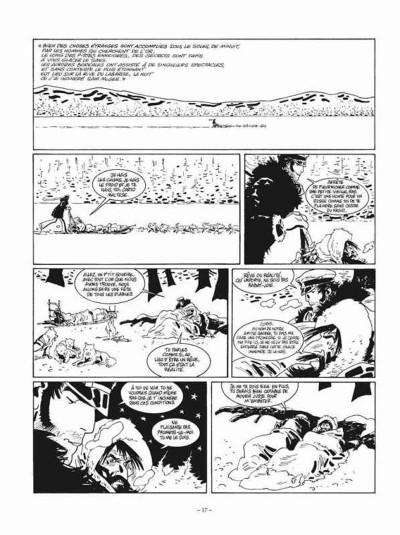 Page 1 Corto Maltese tome 13 - édition noir et blanc