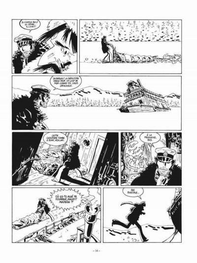 Page 2 Corto Maltese tome 13 - édition noir et blanc
