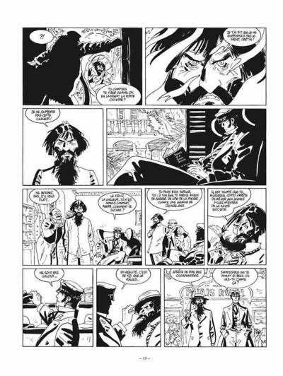 Page 3 Corto Maltese tome 13 - édition noir et blanc