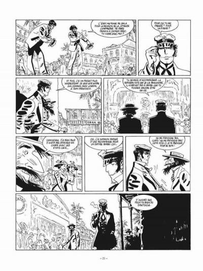Page 5 Corto Maltese tome 13 - édition noir et blanc