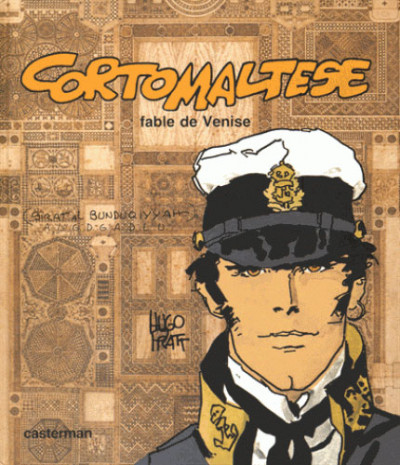 Couverture Corto Maltese fac-similé tome 7 - Fable de Venise