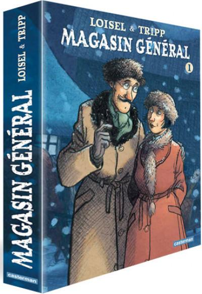 Couverture Magasin général coffret tomes 1 à 3
