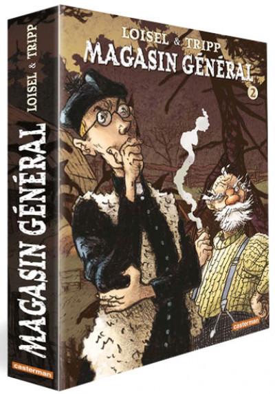 Couverture Magasin Général coffret tomes 4 à 6