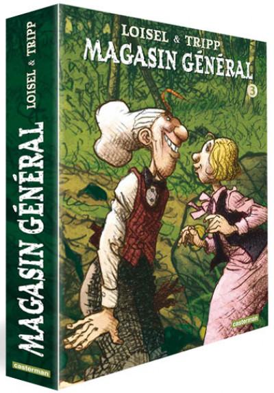 Couverture Magasin général coffret tomes 7 à 9