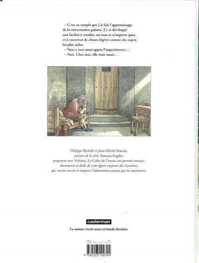 Dos Voltaire - Le culte de l'ironie