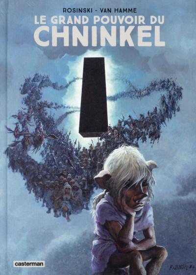 Couverture Le grand pouvoir du Chninkel - édition 2015 couleur