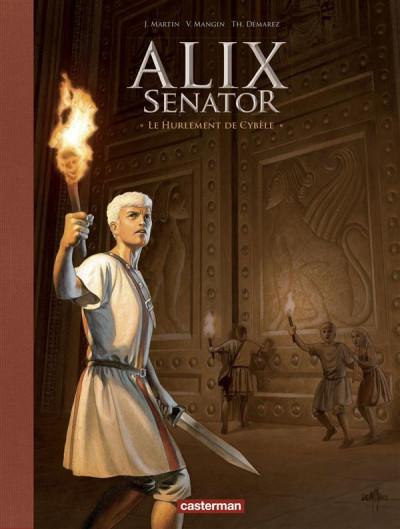 Couverture Alix Senator tome 5 - édition deluxe