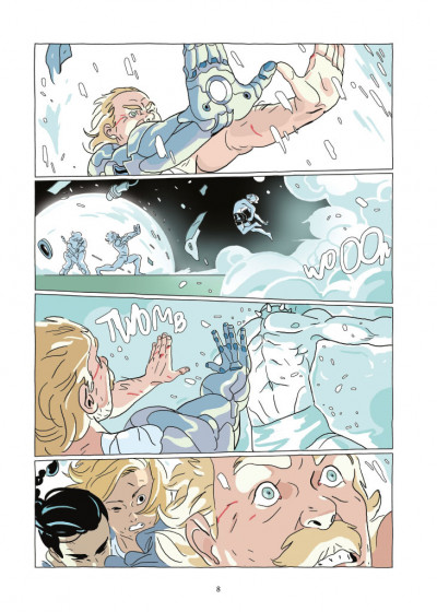 Page 4 Lastman tome 9