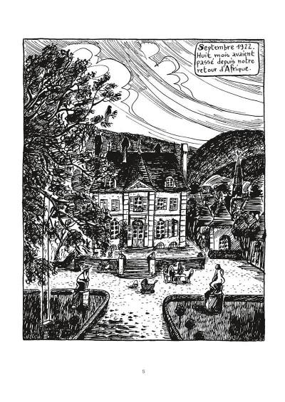 Page 6 Une aventure de Jeanne Picquigny - L'ivresse du poulpe