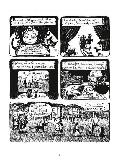 Page 8 Une aventure de Jeanne Picquigny tome 1 - la tendresse des crocodiles