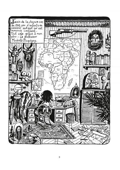 Page 9 Une aventure de Jeanne Picquigny tome 1 - la tendresse des crocodiles