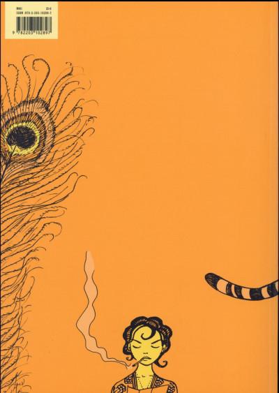 Dos Une aventure de Jeanne Picquigny tome 3 - La patience du tigre