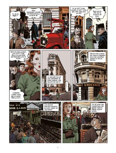Page 5 Nestor Burma tome 10 - contre CQFD