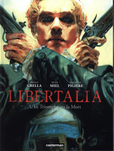 Couverture Libertalia tome 1 + ex-libris offert